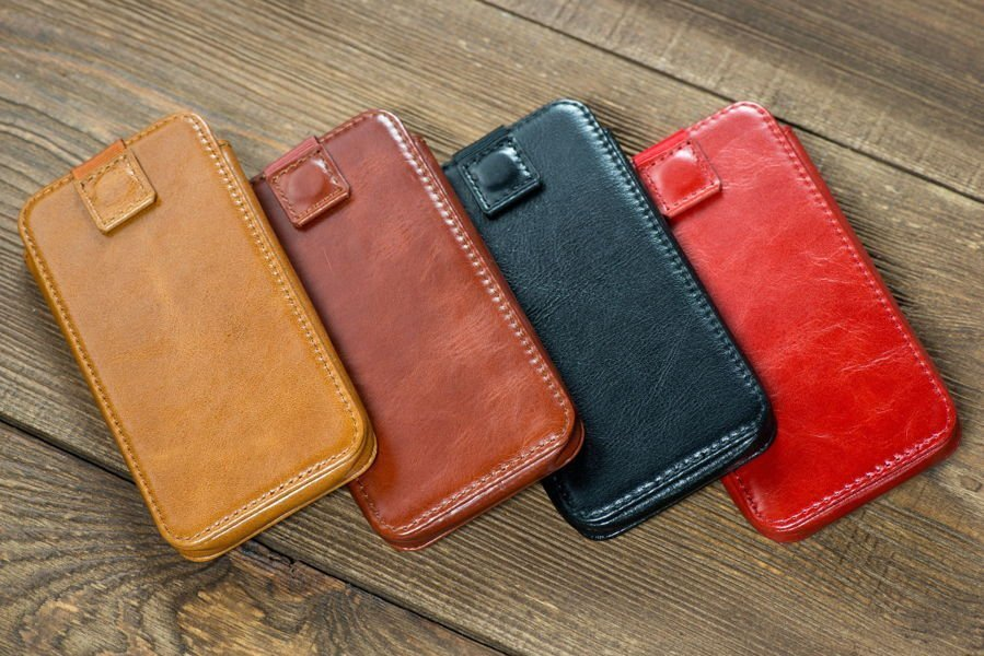 moVear pocketCase C+ Etui Wsuwka do iPhone Xr, Xs Max, 8/7/6 Plus | Skóra Vintage