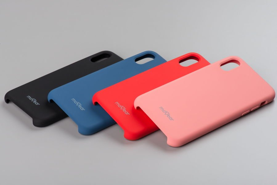 moVear silkyCase Etui na Apple iPhone Xs | Silikon