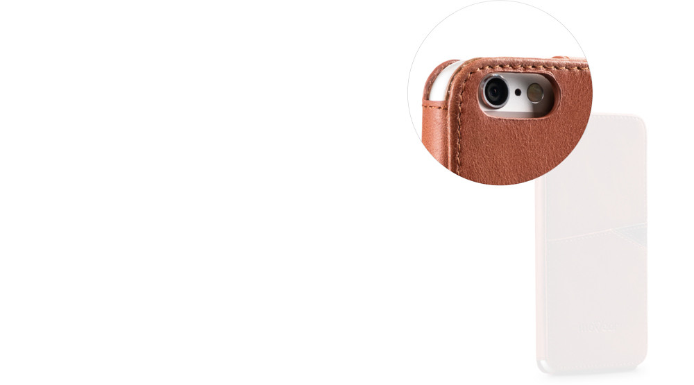 moVear brown backCover J for iPhone 6
