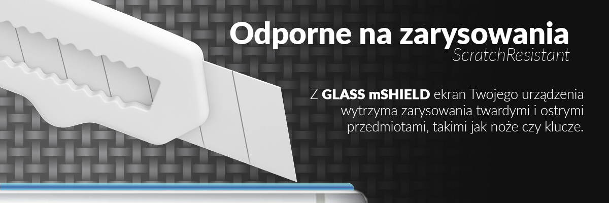 movear.pl - GLASS mSHIELD Szkło Hartowane 9H na iPhone 6 Plus, iPhone 6s Plus 4,7
