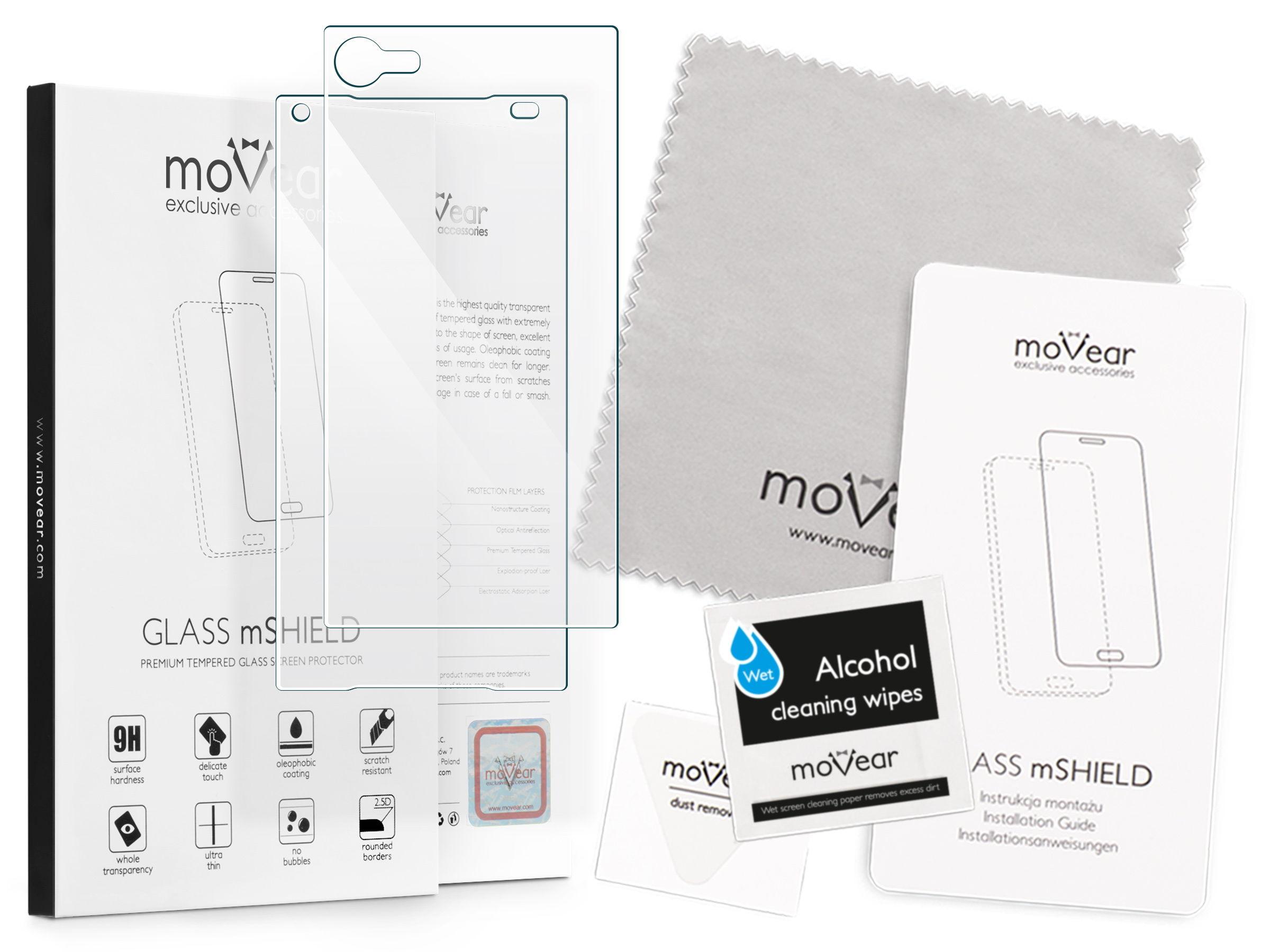 GLASS mSHIELD 2 5D Szkło Hartowane do Sony Xperia Z5 pact Prz³d Tył
