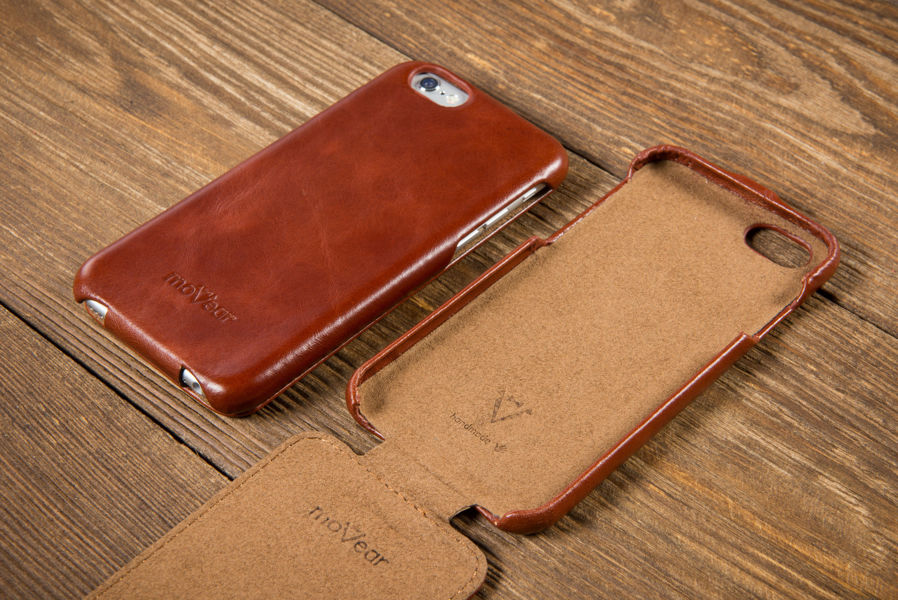 Etui flipDown C do Apple iPhone 6 / 6s | Skóra Vintage