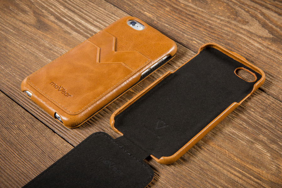 Etui flipDown C+ do Apple iPhone 6 / 6s | Skóra Vintage