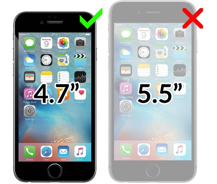 "moVear flipSide C Etui do Apple iPhone 6 / 6s (4.7"") 