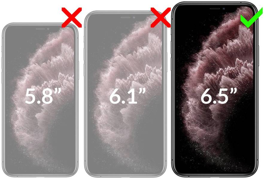 moVear flipSide C Etui do Apple iPhone Xs MAX | Skóra Nappa
