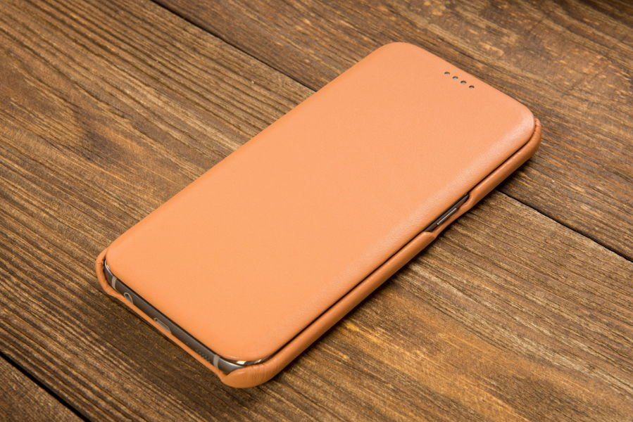 Etui flipSide S do Samsung Galaxy S7 edge | Skóra Gładka
