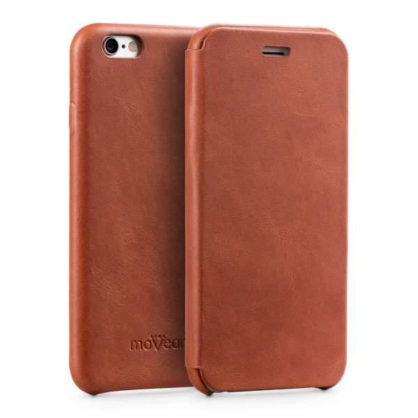 Etui flipSide xS do Apple iPhone 6 / 6s | Skóra Crazy Horse
