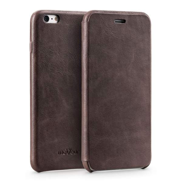 Etui flipSide xS do Apple iPhone 6 Plus / 6s Plus | Skóra Crazy Horse