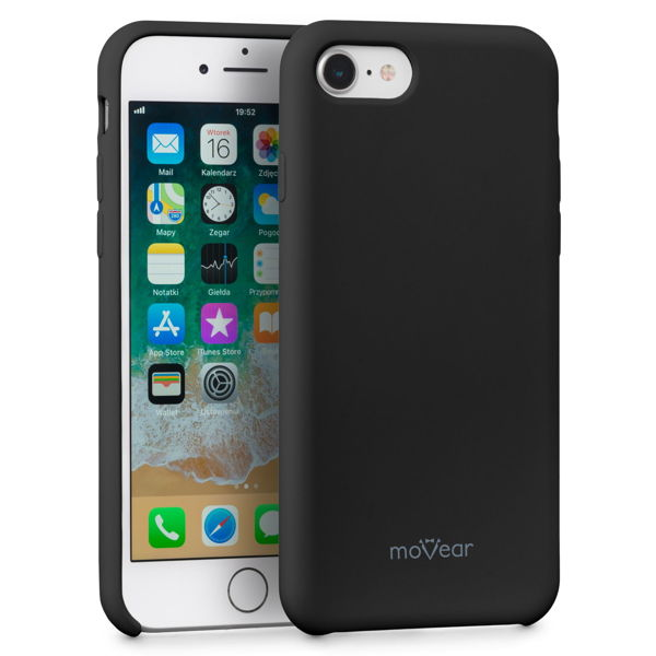 moVear silkyCase Etui na Apple iPhone 8 / 7 | Silikon