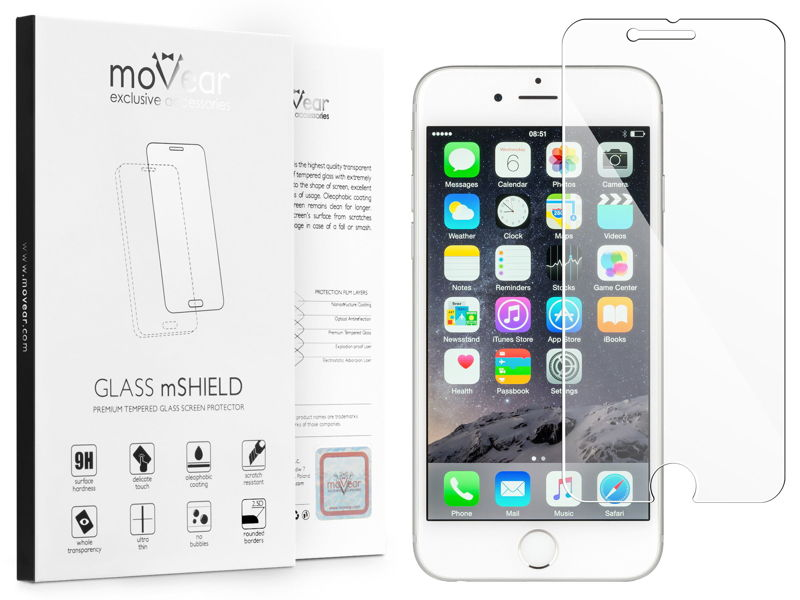 GLASS mSHIELD do Apple iPhone 6 Plus / 6s Plus