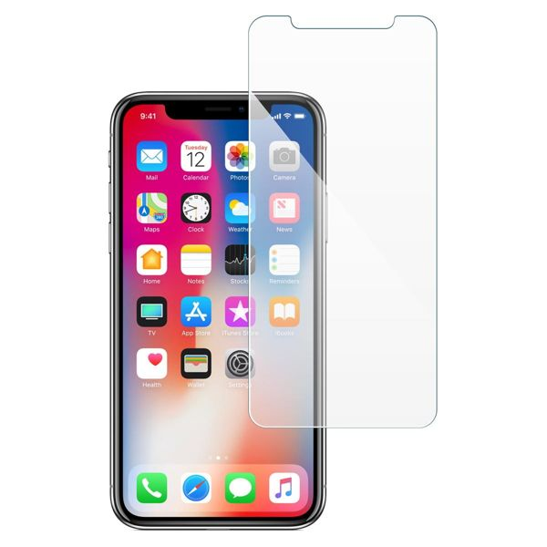 moVear GLASS mSHIELD 2.5D na Apple iPhone Xs / X | Szkło Hartowane do etui, 9H