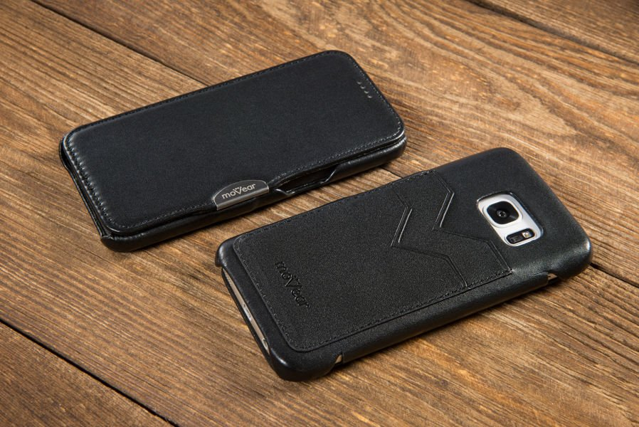 moVear flipSide C+ Etui do Samsung Galaxy S6 | Skóra Gładka