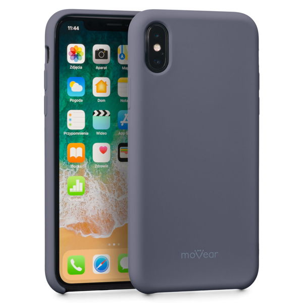 moVear silkyCase Etui na Apple iPhone X | Silikon